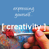 photo of creativity: expressing yourself