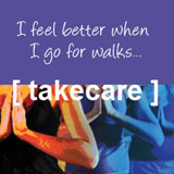 photo of take care: I feel better when I go for walks