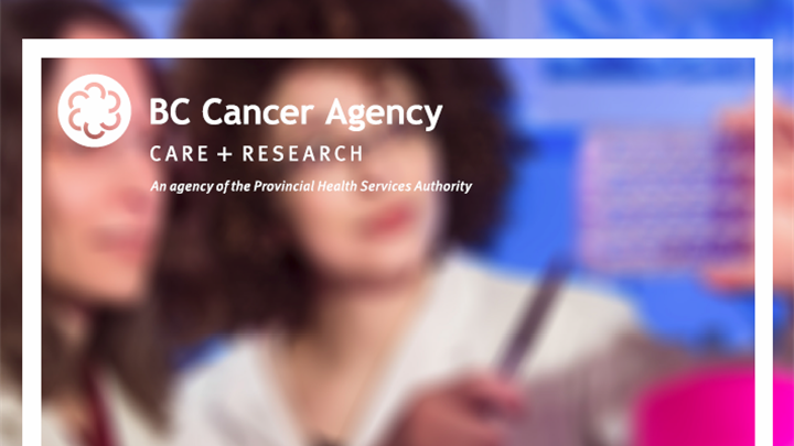 cover of BC Cancer Agency's 2016 Research Report