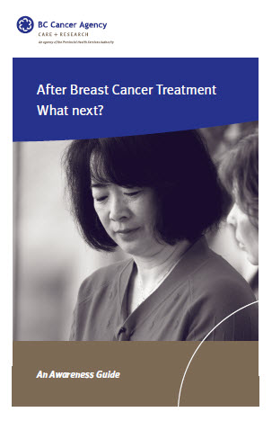 After breast cancer treatment What Next?