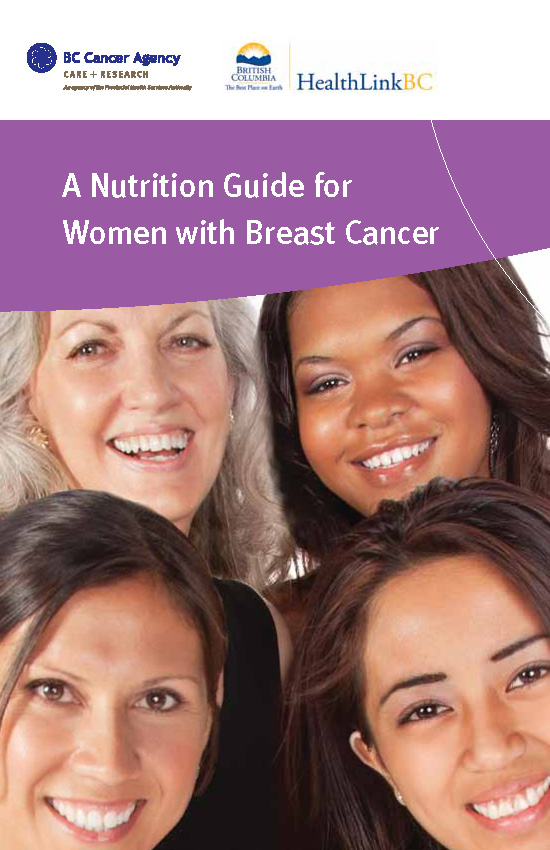Nutrition guide for women with breast cancer